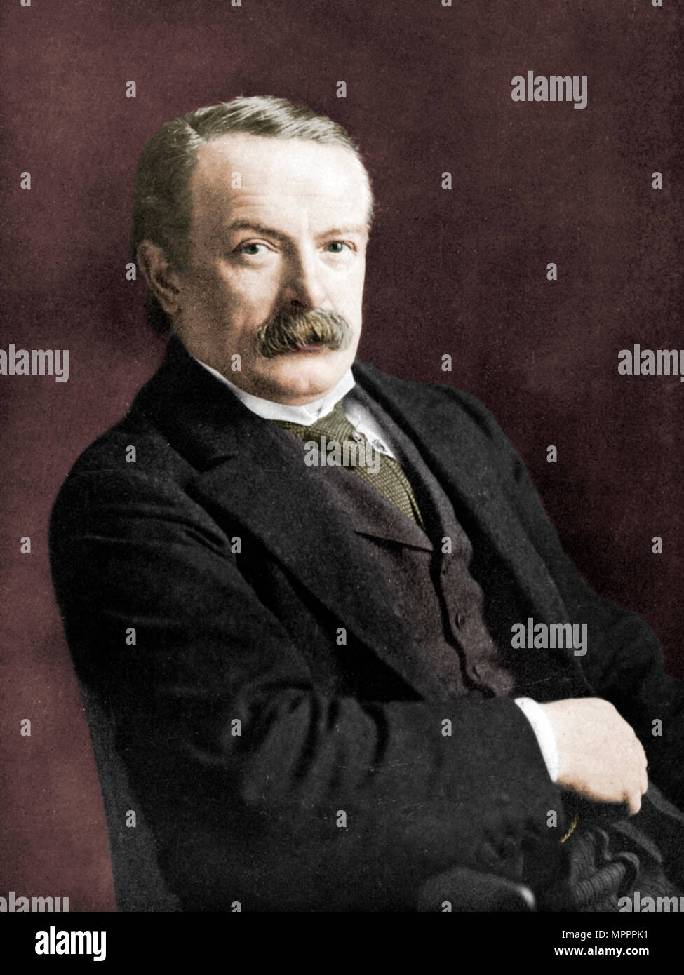 David Lloyd George, British politician, c1920. Artist: Haines. - Stock Image