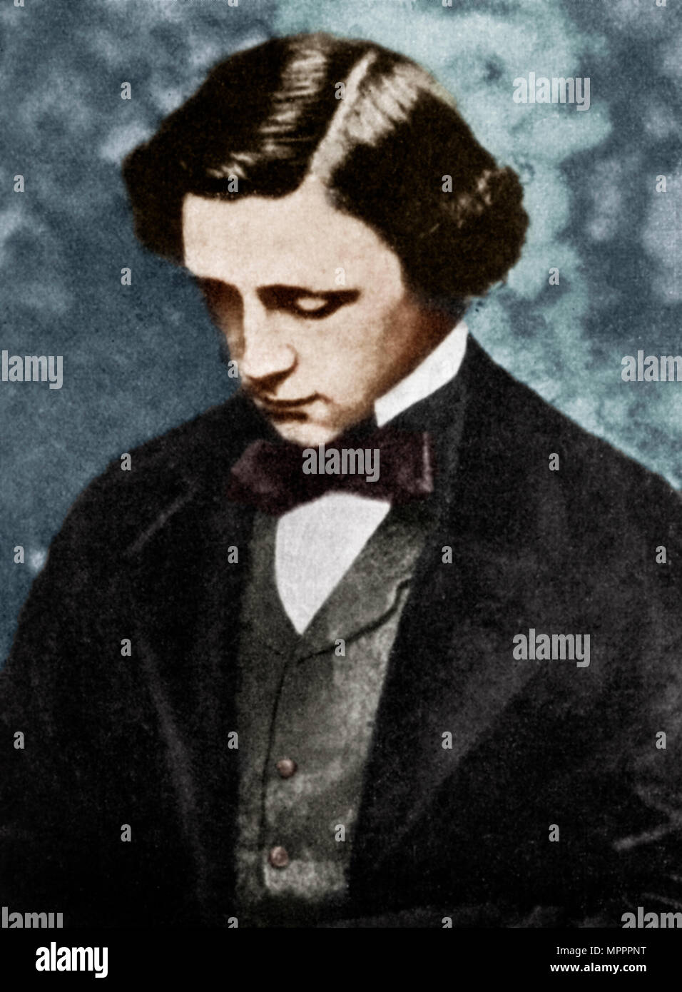 Lewis Carroll, English author, 19th century (1951).  Artist: Unknown. - Stock Image