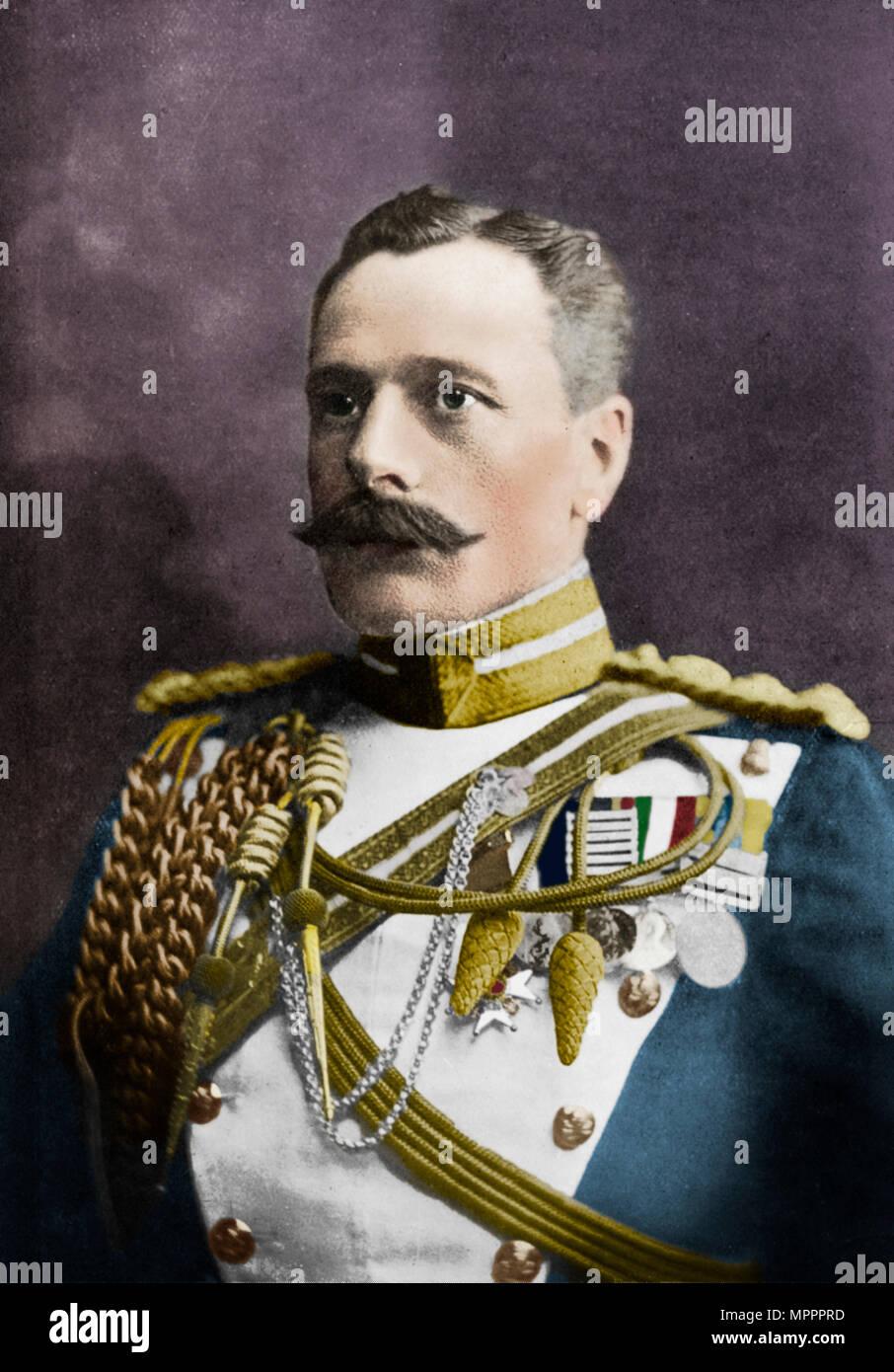 Field Marshal Sir Douglas Haig, British soldier, c1920.  Artist: HW Barnett. - Stock Image