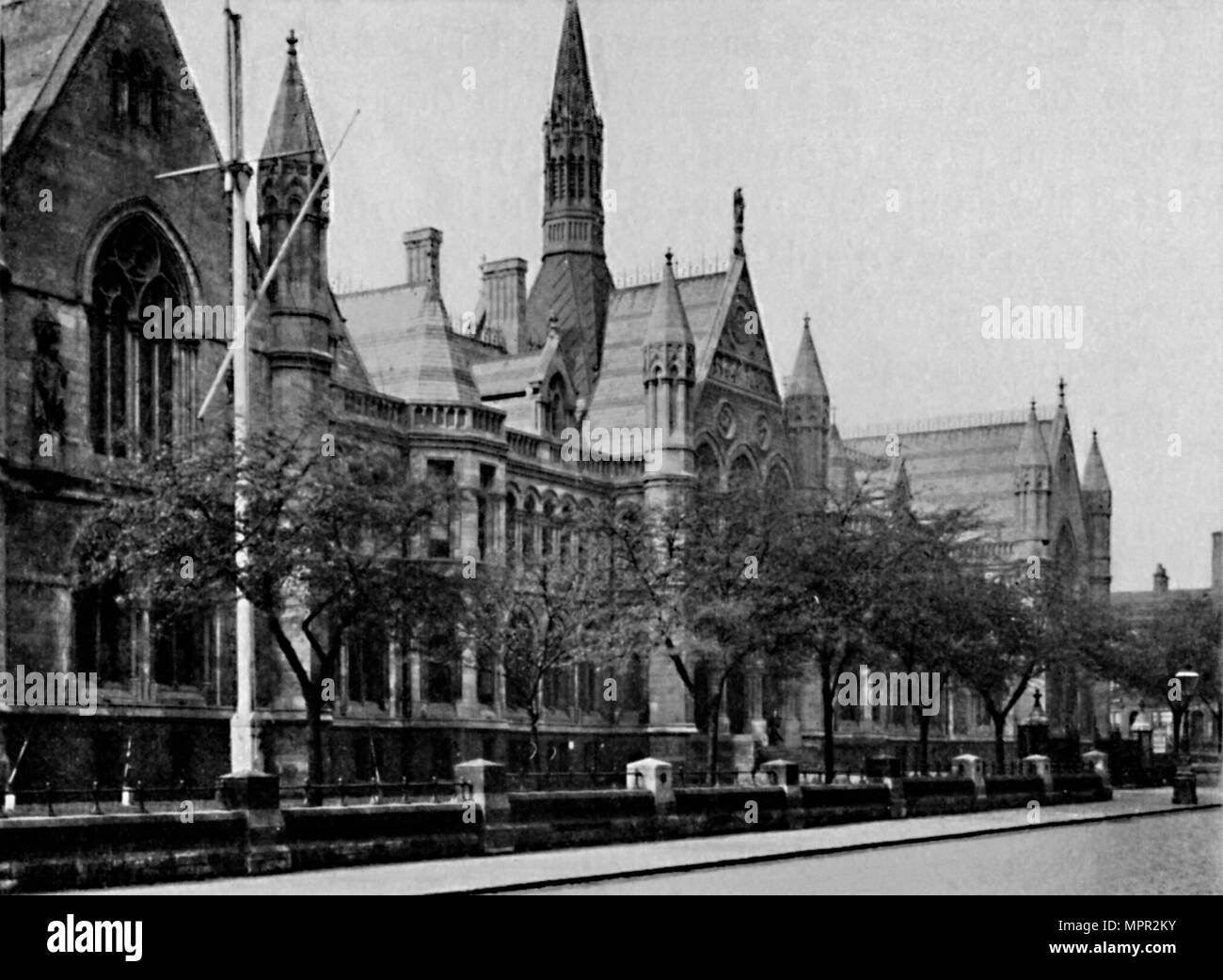 'University College, Nottingham', 1904. Artist: Unknown. - Stock Image