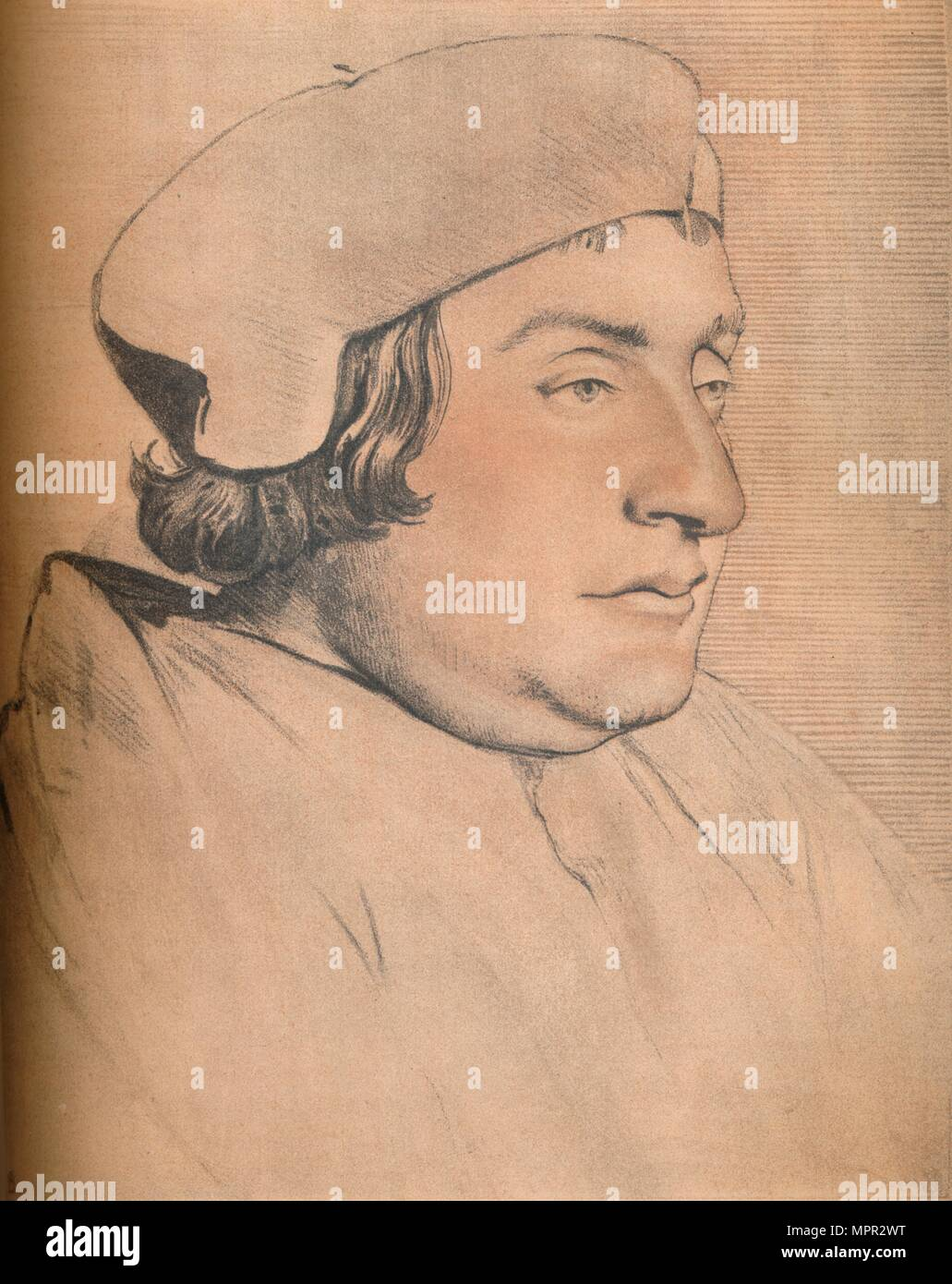 'Portrait of a Man', 1903. Artist: Hans Holbein the Younger. - Stock Image