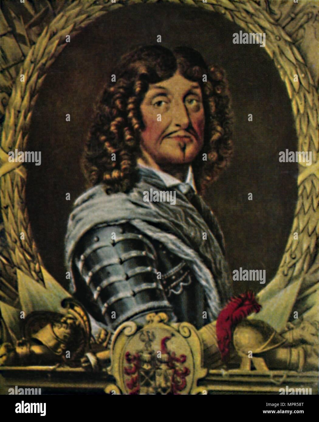 'Feldmarschall von Derfflinger 1606-1695', 1934. Artist: Unknown. - Stock Image