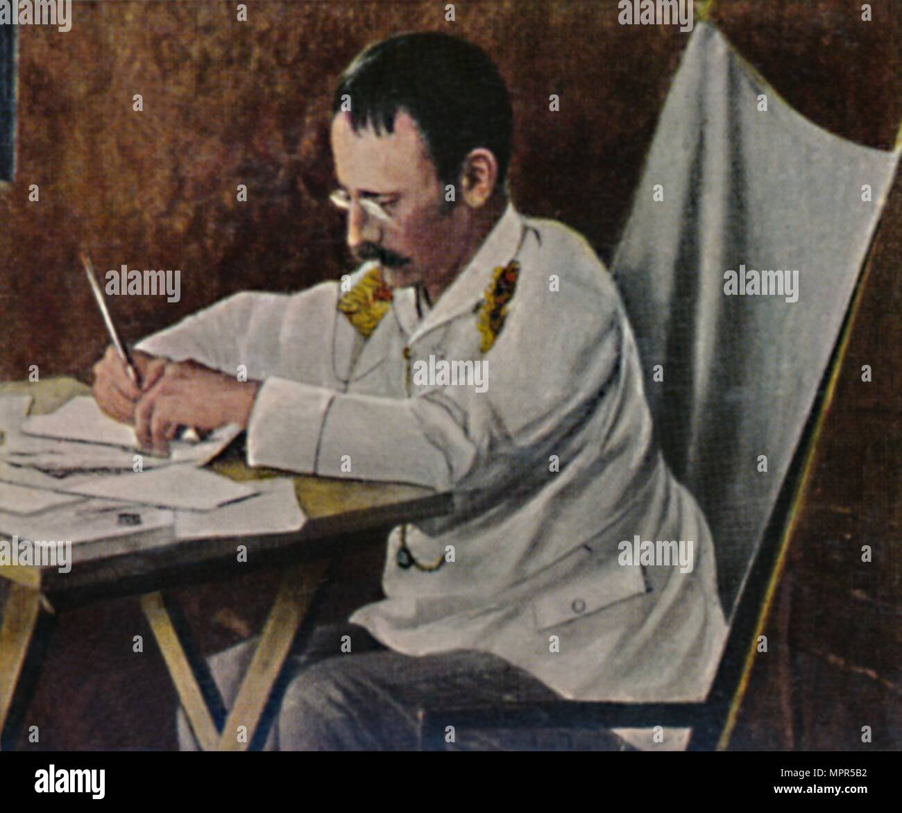 'Dr. Carl Peters 1856-1918', 1934. Artist: Unknown. - Stock Image