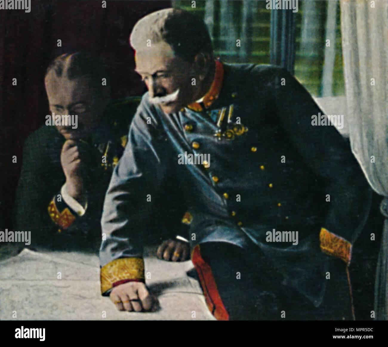 'Feldmarschall Conrad von Hotzen', 1934. Artist: Unknown. - Stock Image