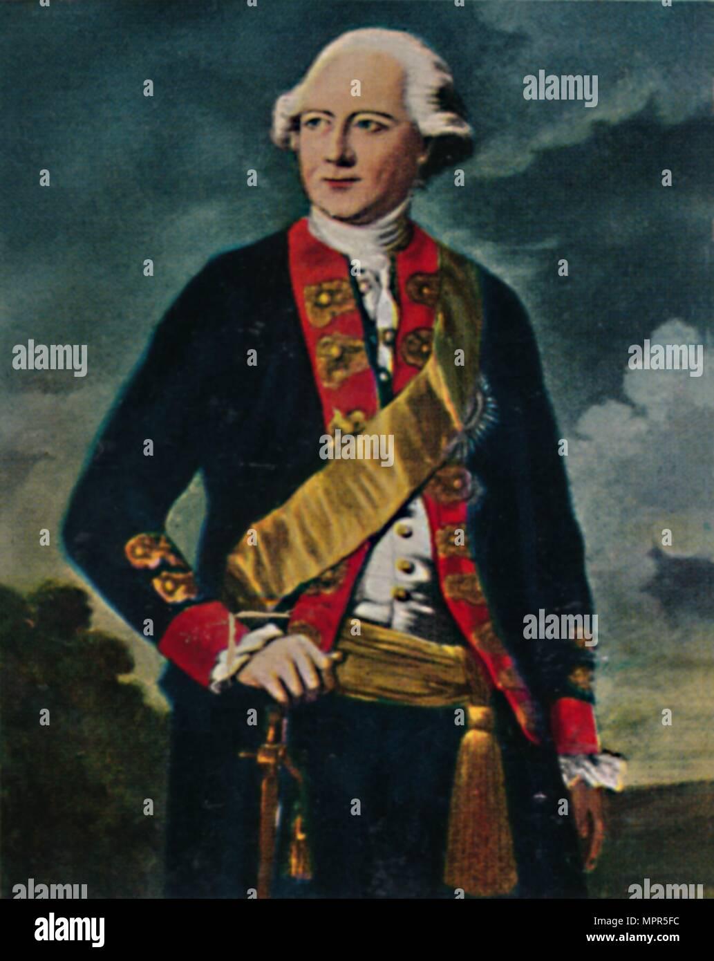 'Feldmarschall von Möllendorff 1724-1816', 1934. Artist: Unknown. - Stock Image