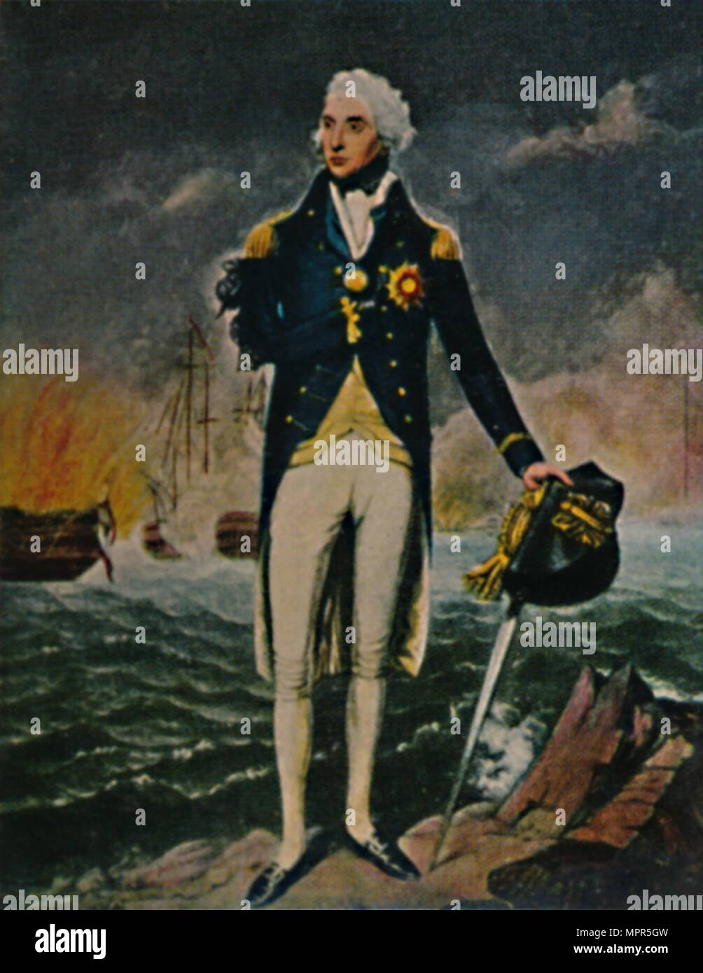 'Lord Nelson 1758-1805', 1934. Artist: Unknown. - Stock Image
