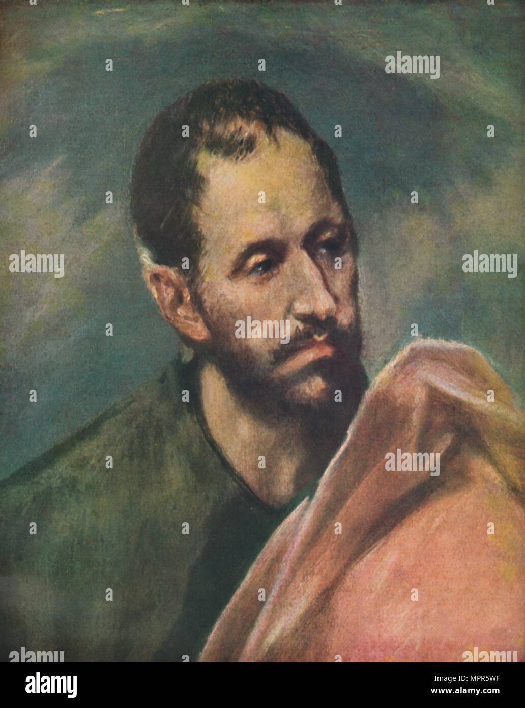 'Als Apostel Jacobus Minor', (Saint James the Younger), c1600, (1938). Artist: El Greco. - Stock Image