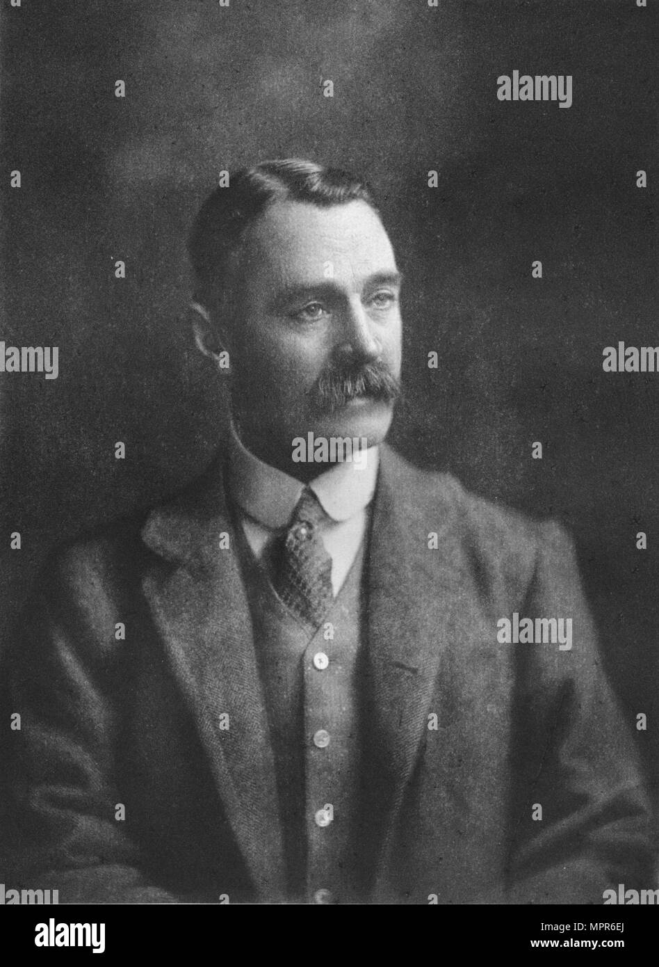 'Mr W Brodrick-Cloete', 1911. Artist: Unknown. - Stock Image