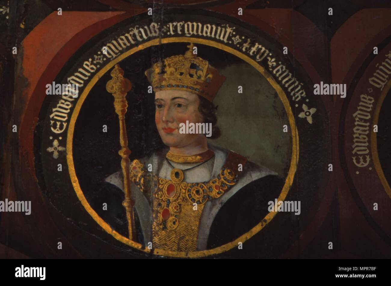 King Edward IV, (1442- 1483), circa mid 16th century. Artist: Unknown. - Stock Image