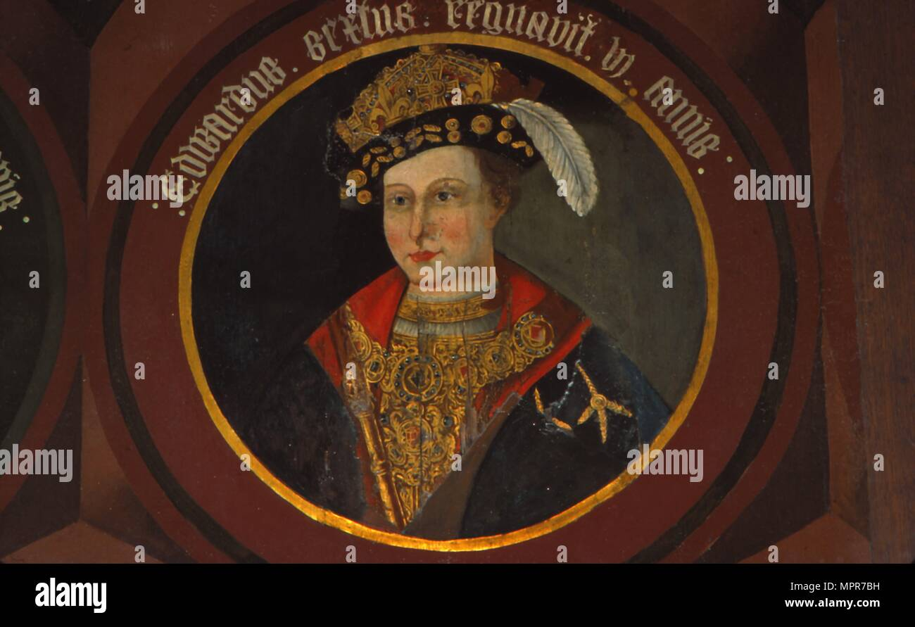 King Edward VI, (1537-1553), circa mid 16th century. Artist: Unknown. - Stock Image