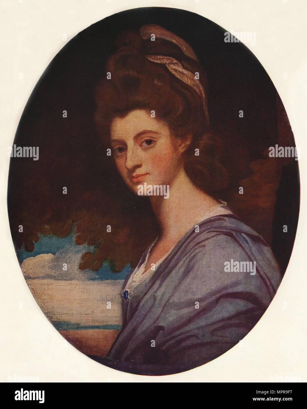 'Lady Craven', 1778, (c1915). Artist: George Romney. - Stock Image