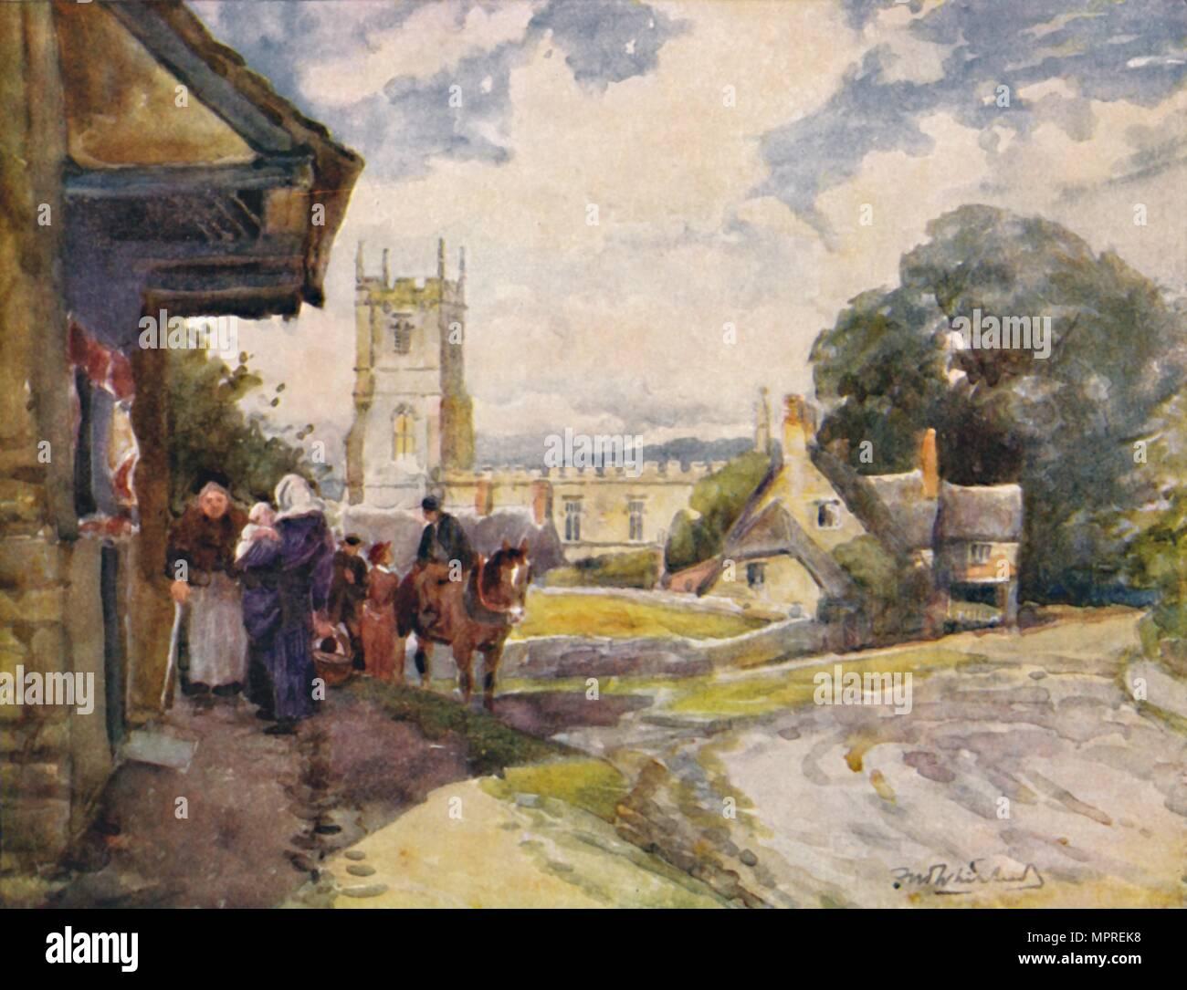 'Long Compton', c1900. Artist: William Biscombe Gardner. - Stock Image