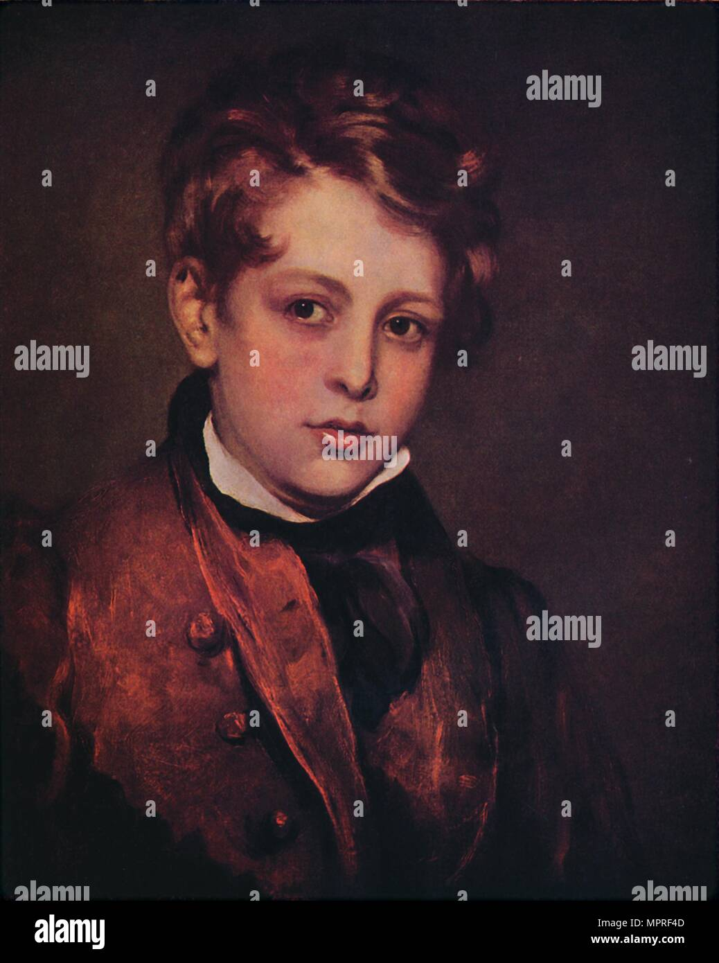 'Lord Byron as a Boy', 1799, (1947). Artist: Thomas Lawrence. - Stock Image