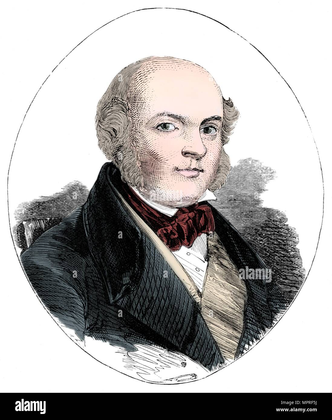James Bruce, Lord Elgin, (1811-1863), 19th century.  Artist: Unknown. - Stock Image
