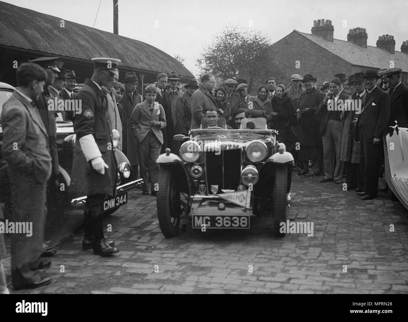mg pa of ac sears at the rac rally 1939 artist bill brunell stock