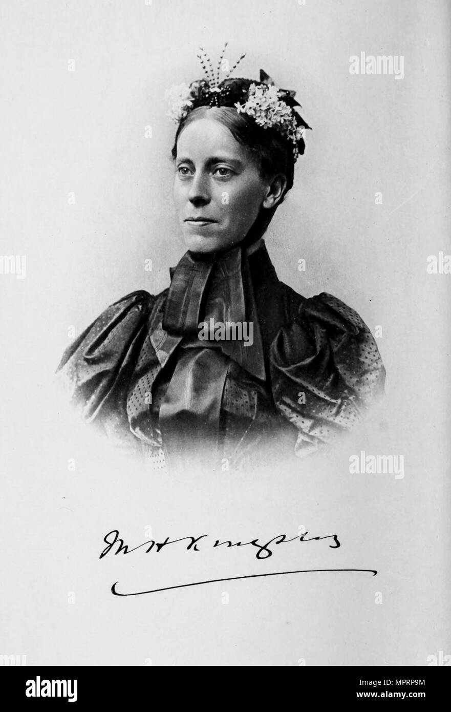 Mary Kingsley (1862-1900), c. 1900. - Stock Image