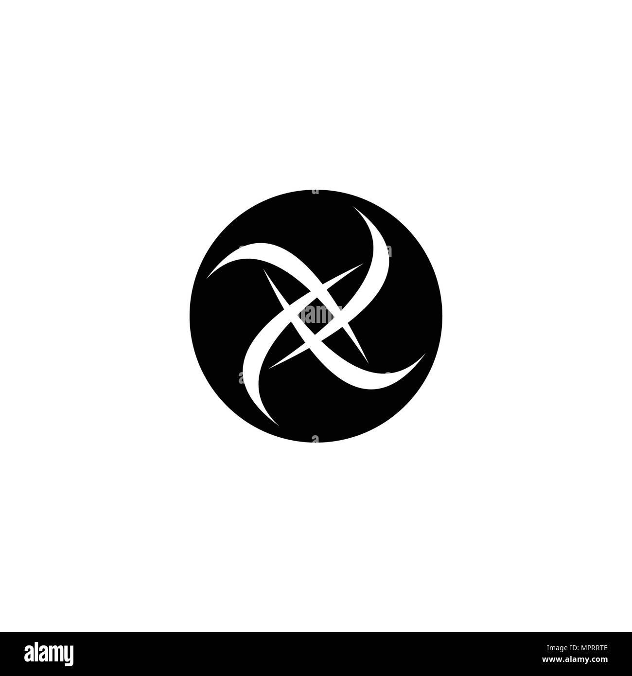 Circlelogo Template Black