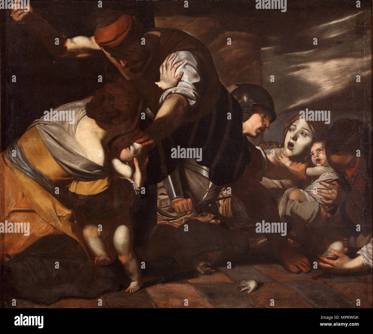 The Massacre of the Innocents. - Stock Image