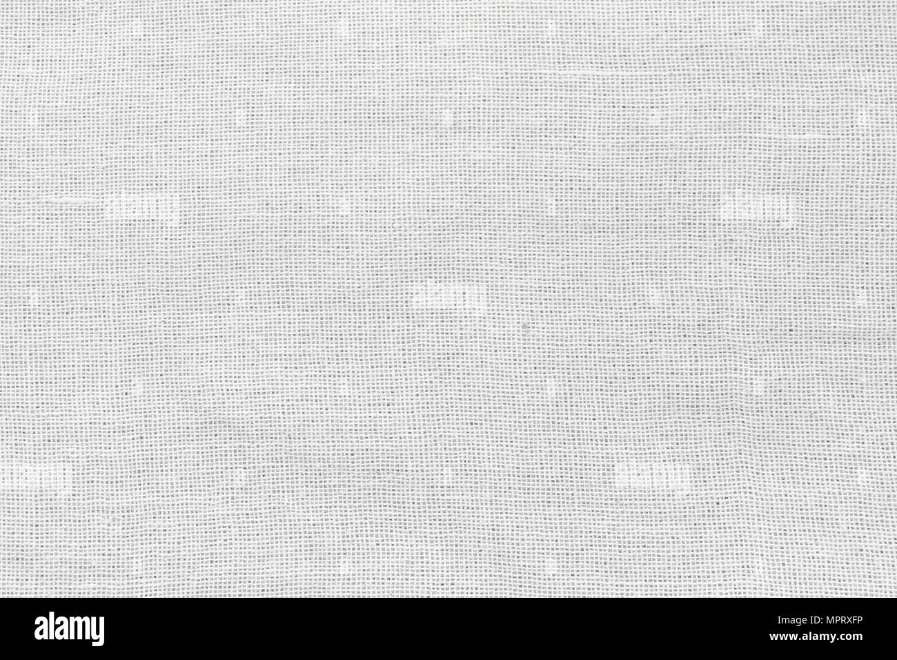 White Cotton Fabric Cloth Background High Resolution Texture For