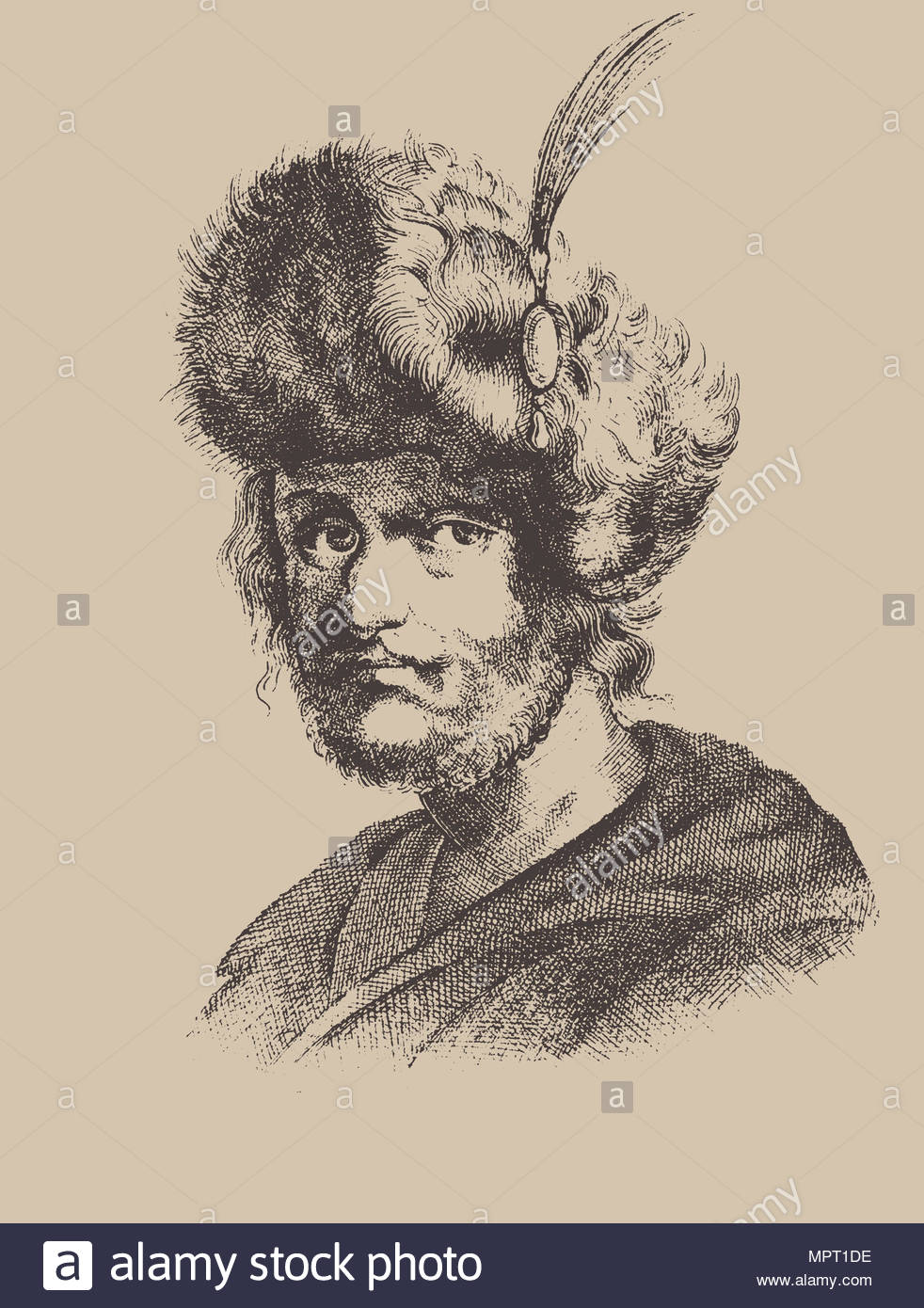False Dmitry II. - Stock Image