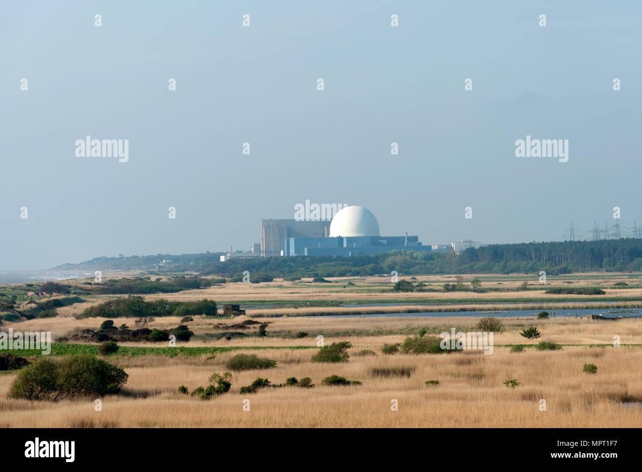 Sizewell B atomic power station, Suffolk, UK. - Stock Image