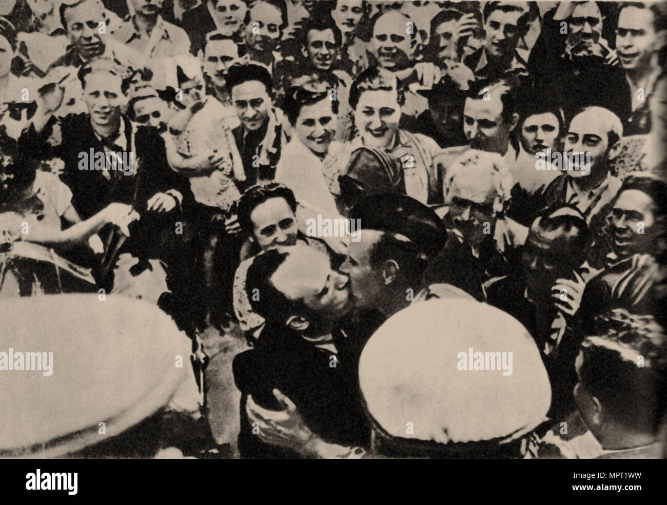 The Soviet Red Army in Kishinev, 1940, 1940. - Stock Image