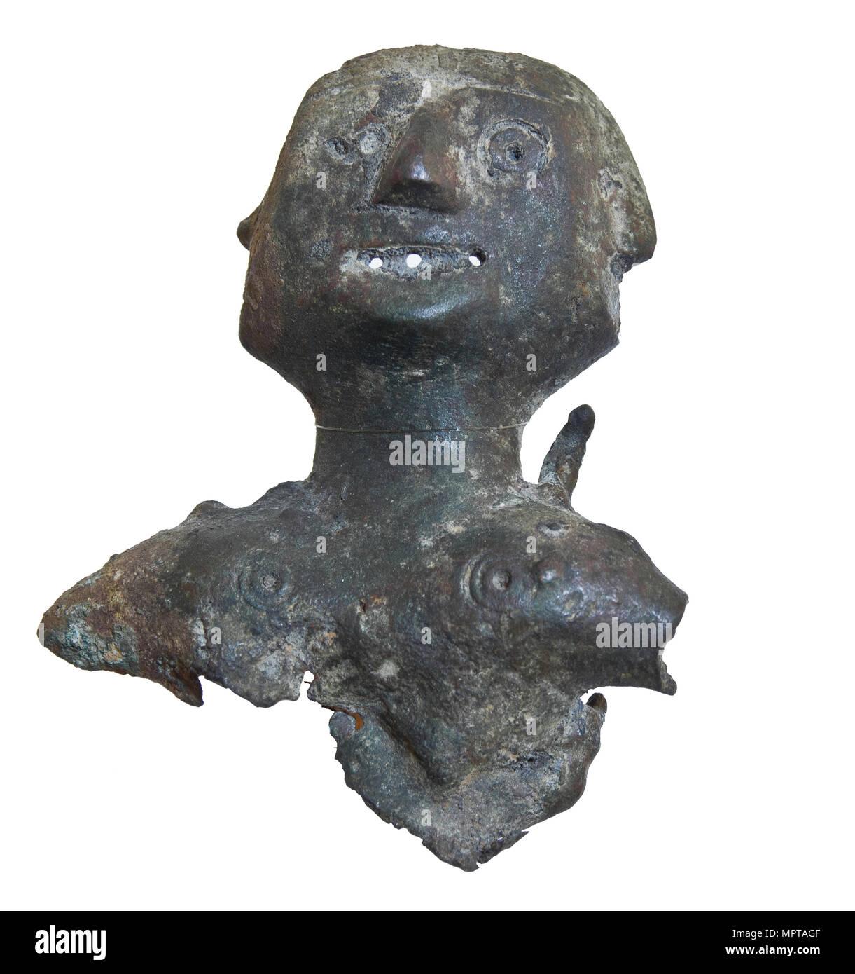 Idol from Old Ryazan. - Stock Image