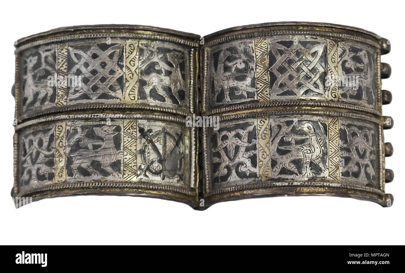 Bracelet from Old Ryazan. - Stock Image