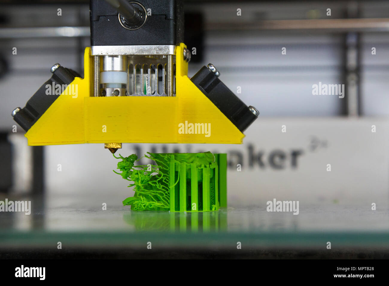 3D / three dimensional printing equipment display; Open Day at the National Physical Laboratory (NPL), Teddington. London. UK. (97) - Stock Image