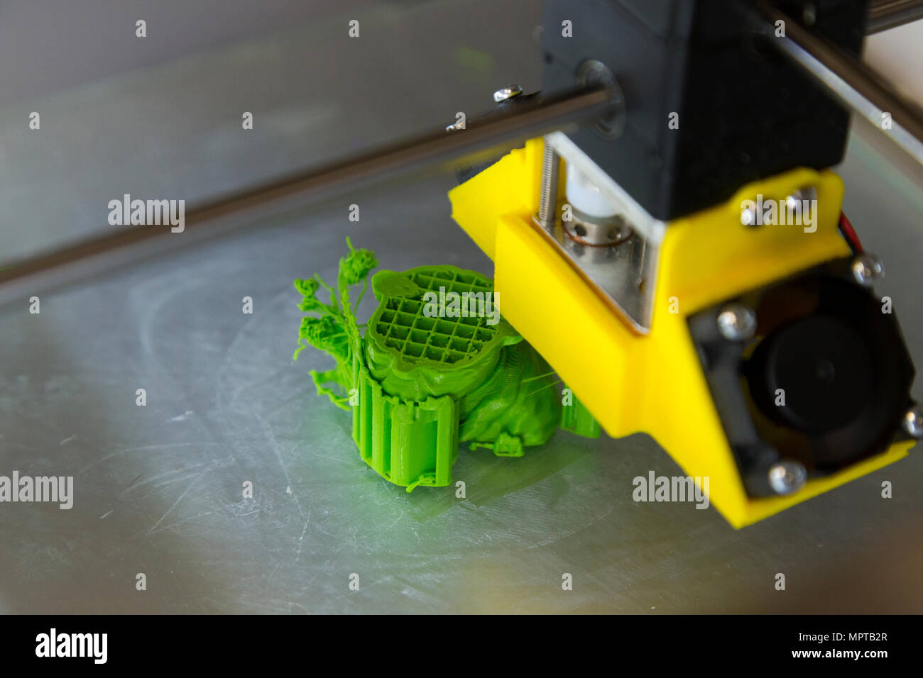 3D / three dimensional printing equipment display; Open Day at the National Physical Laboratory (NPL), Teddington. London. UK. (97) - Stock Image