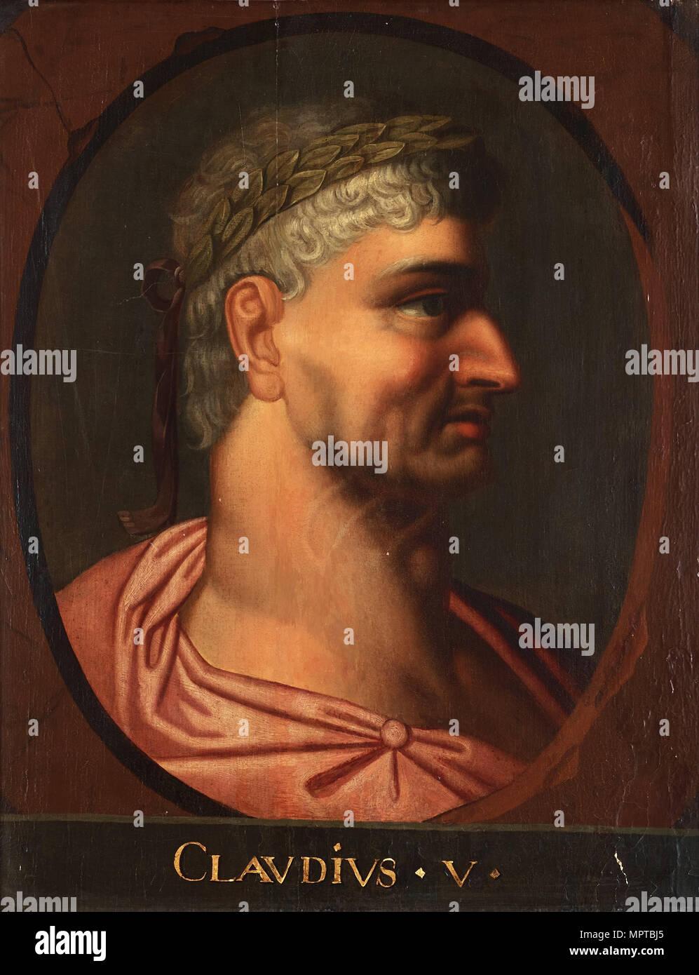 Emperor Claudius. - Stock Image
