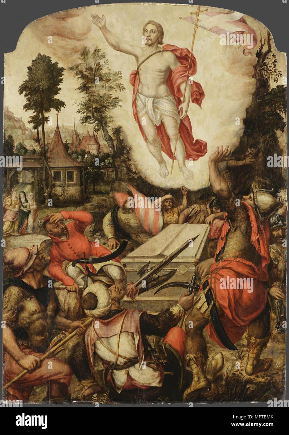 The Resurrection of Christ. - Stock Image