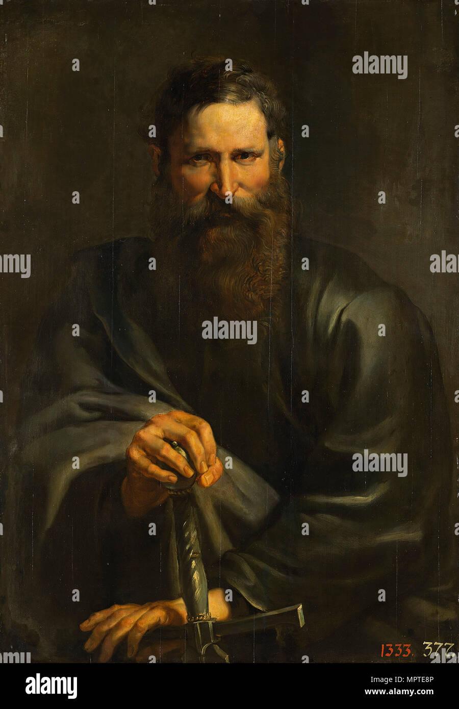 The Apostle Paul, c. 1615. - Stock Image