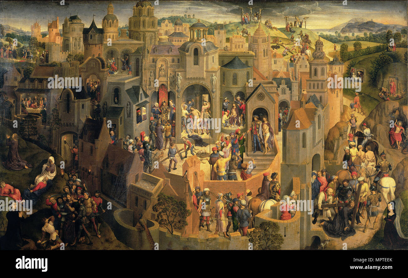 The Passion of Christ, 1470. - Stock Image