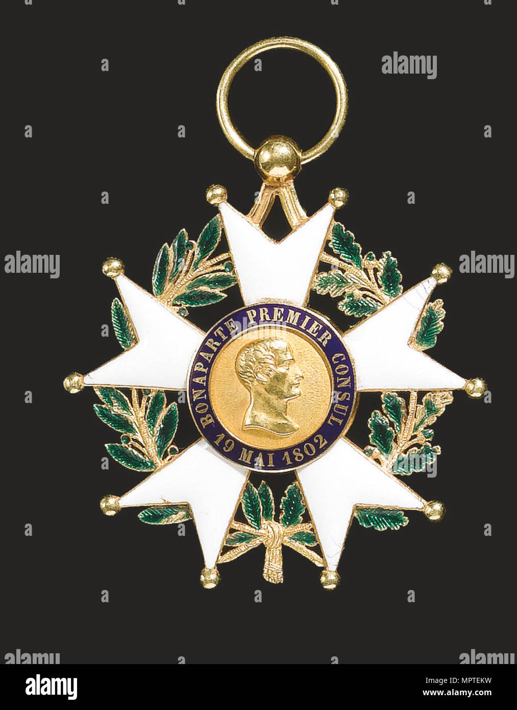 Order of the Légion d'Honneur, 1830-1840s. - Stock Image