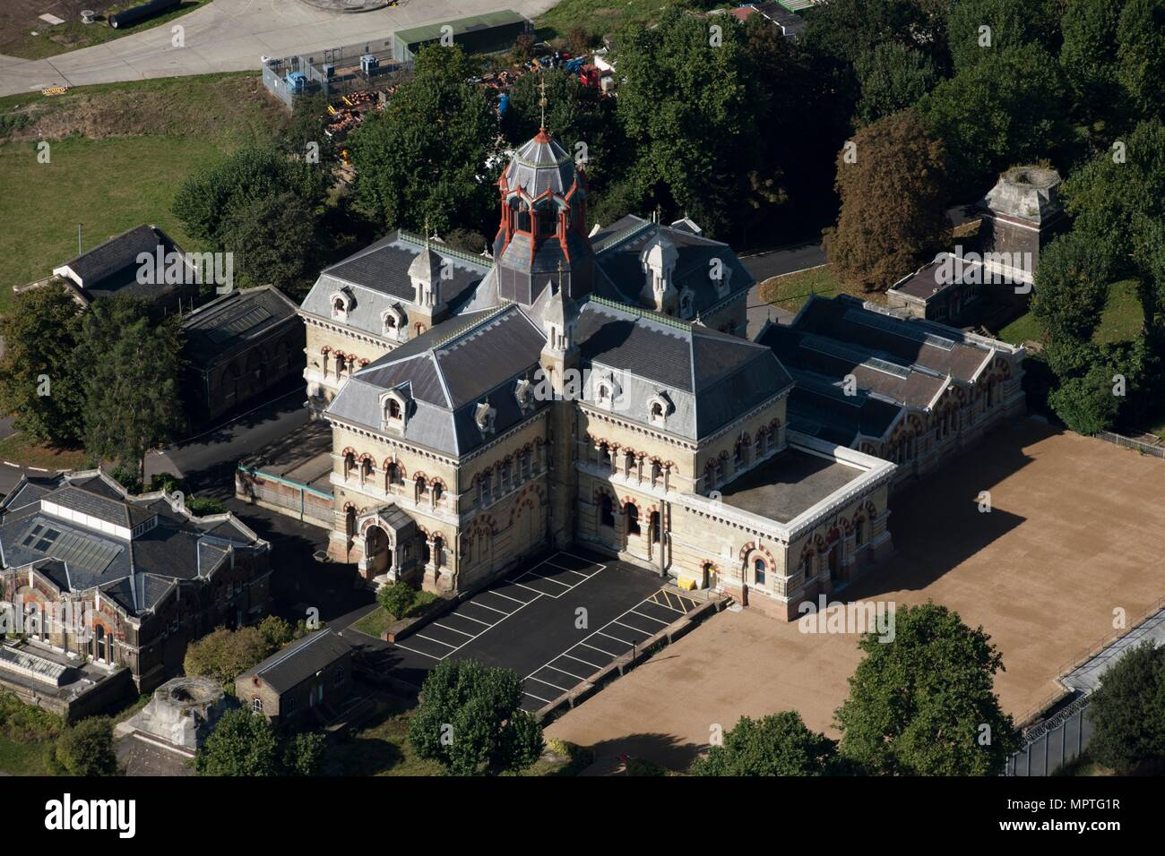 Abbey Mills Pumping Station, Abbey Lane, Stratford, London, 2012. Artist: Damian Grady. - Stock Image