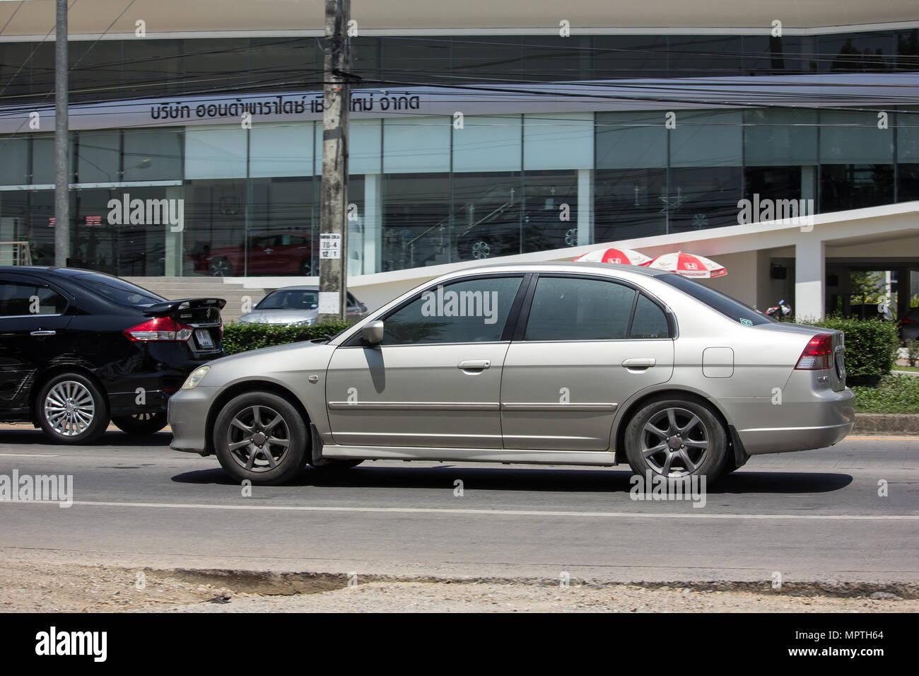 Chiang Mai Thailand May 18 2018 Private Sedan Car From Honda