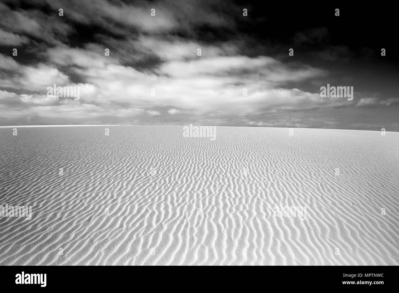 Fine Art Landscape Wallpaper Of Desert Dunes In Black And White