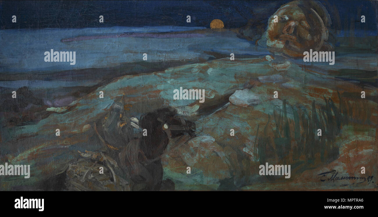 Alexander Pushkin, a poem Ruslan and Lyudmila: a summary 26