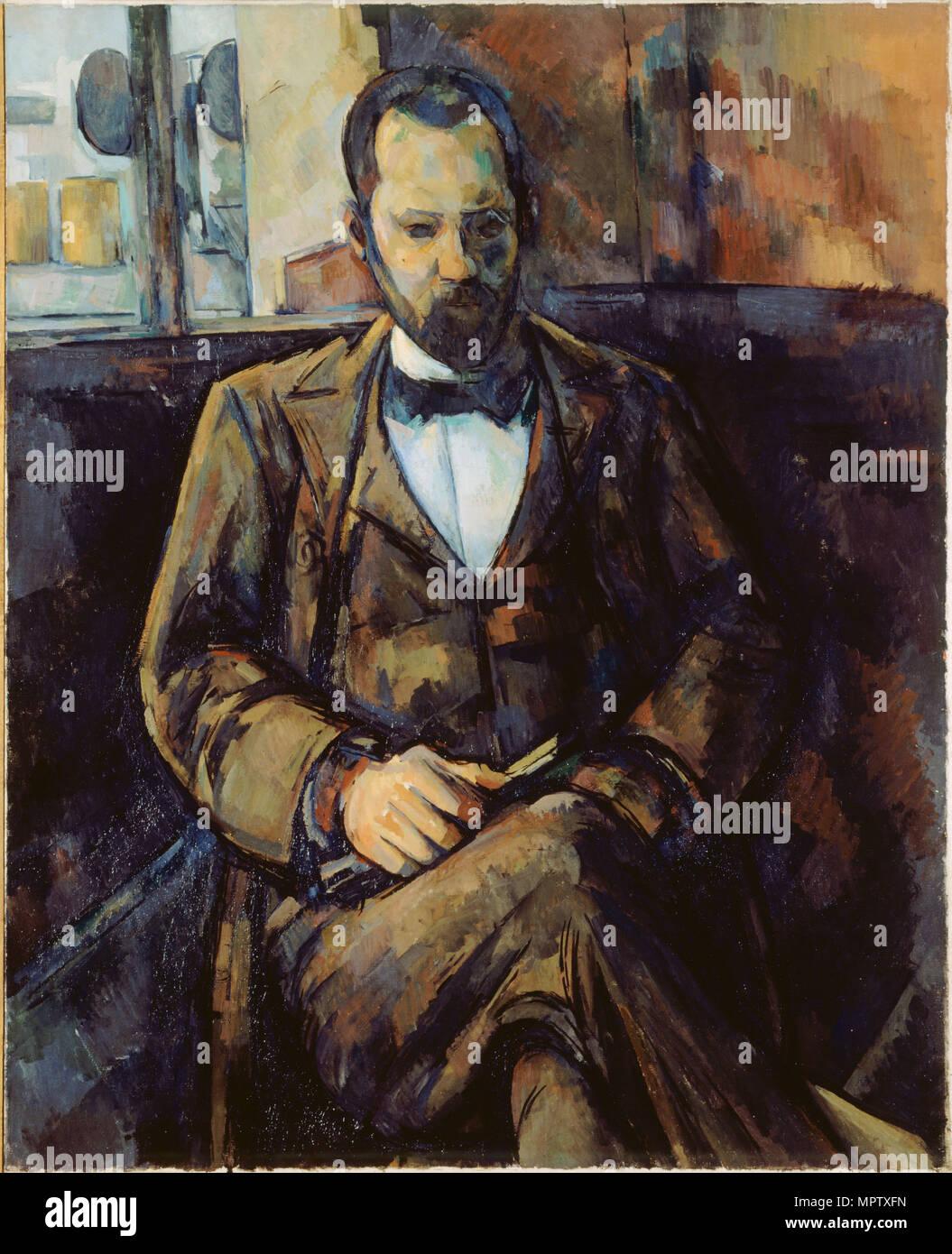 Portrait of Ambroise Vollard. - Stock Image
