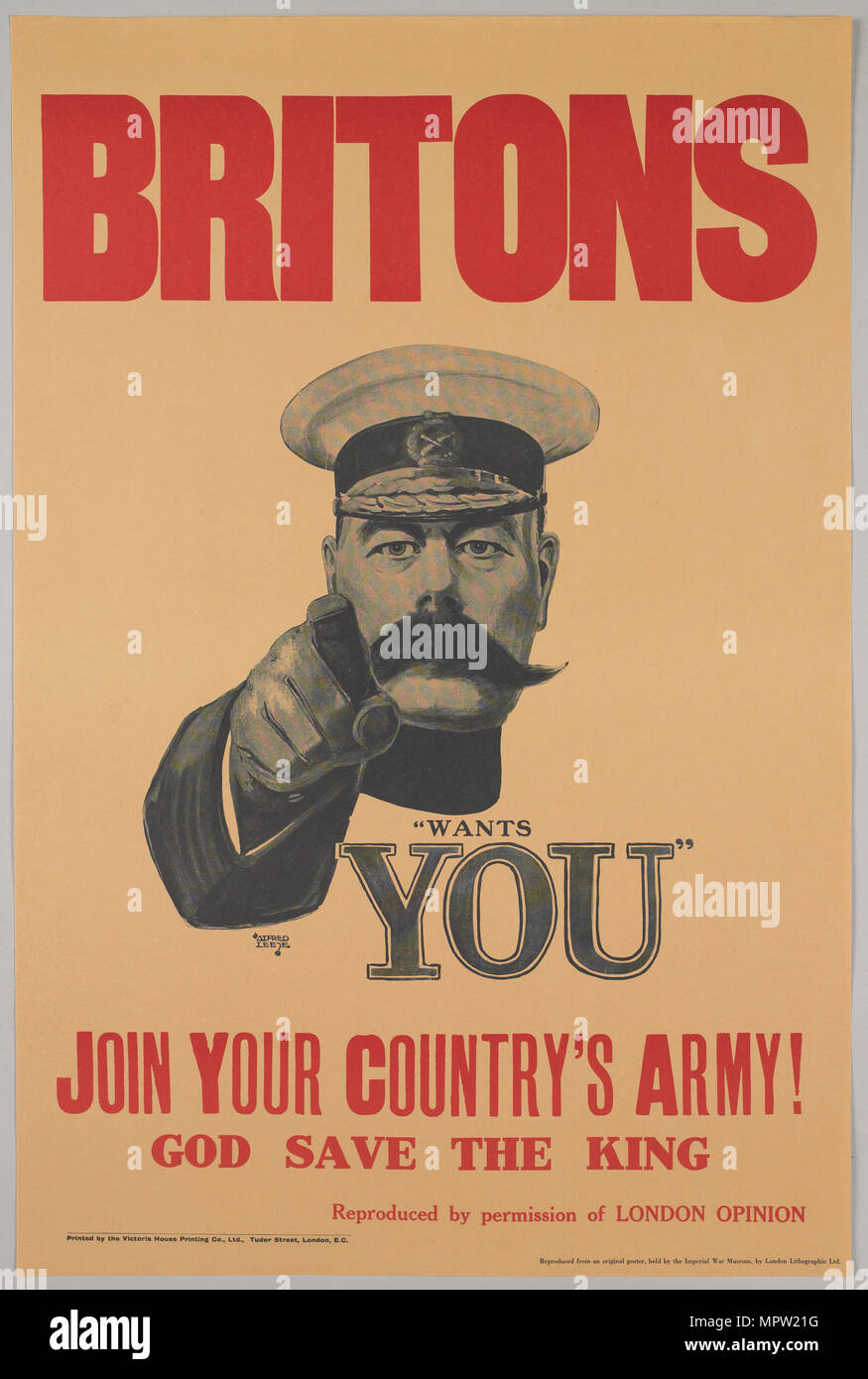 Britons, Lord Kitchener Wants You. Join Your Country\'s Army!, 1914 ...