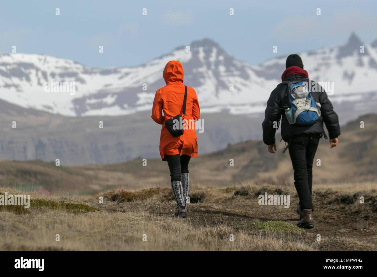 Djupivogur, Iceland. - Stock Image