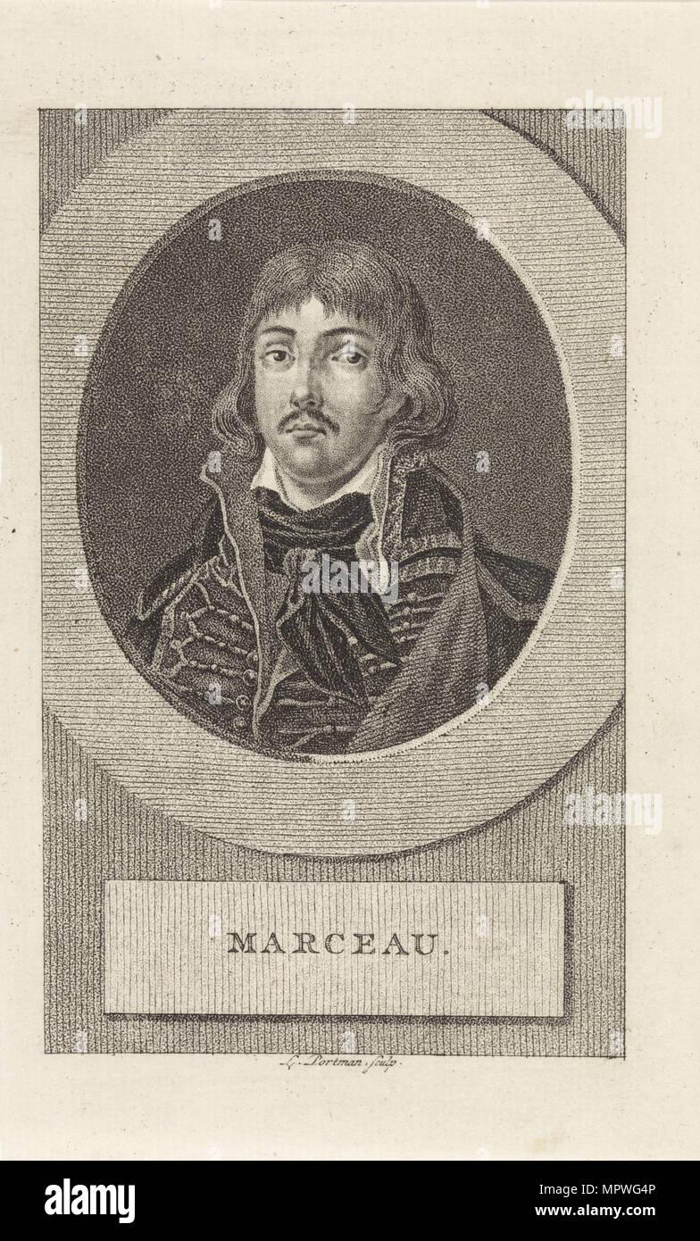 General François Séverin Marceau-Desgraviers (1751-1847), 1806. - Stock Image