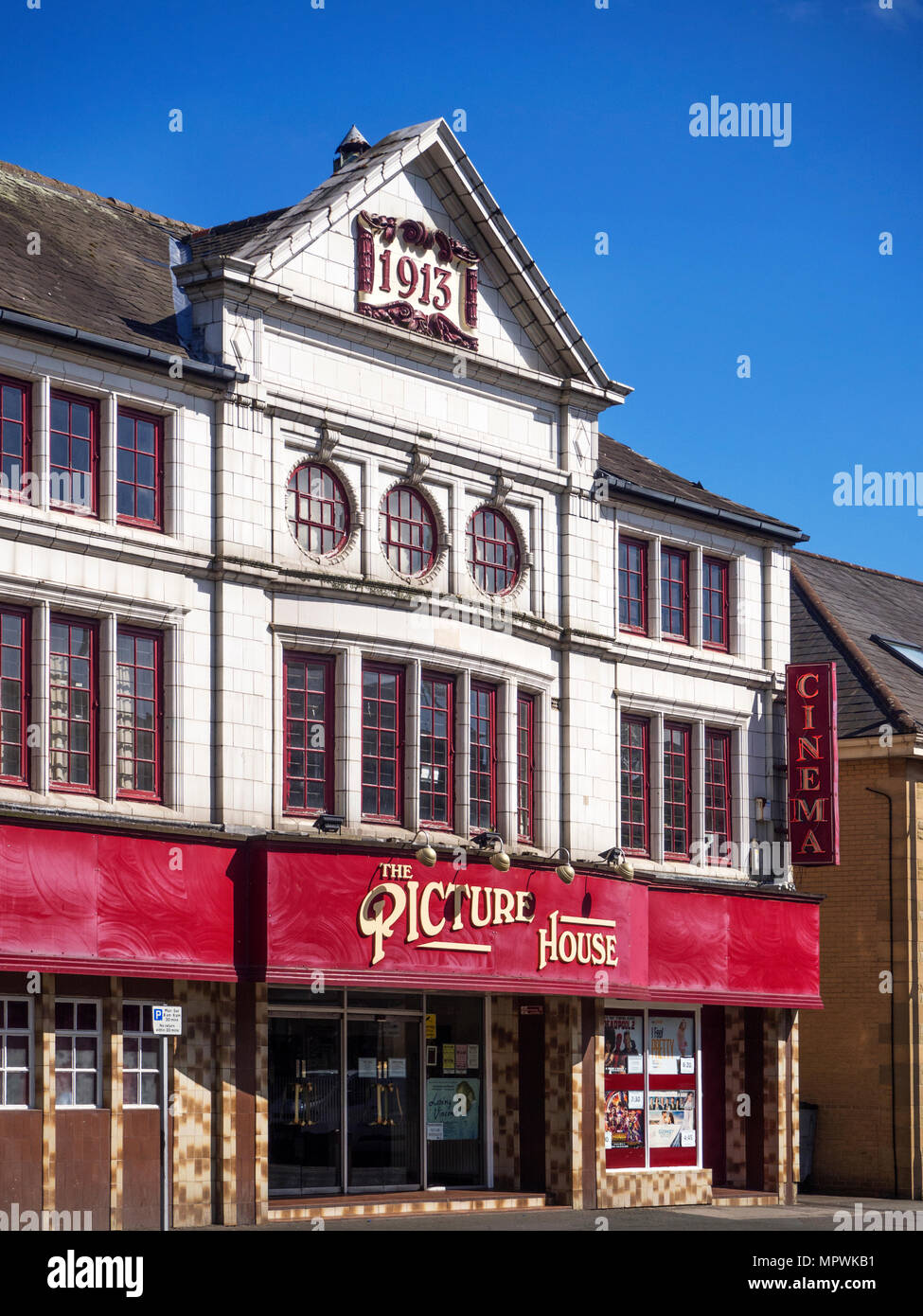 The Picture House Cinema at  Keighley West Yorkshire England - Stock Image