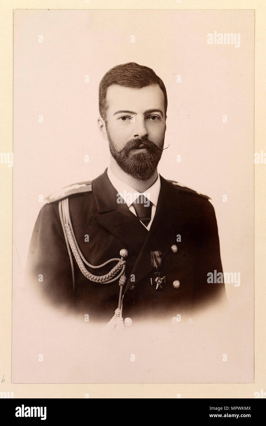 Grand Duke Alexander Mikhailovich of Russia (1866-1933), ca 1894. Stock Photo