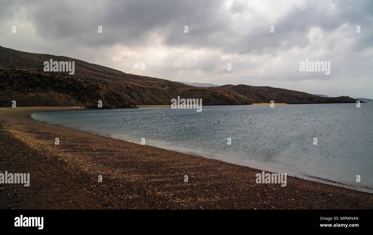 Arta beach of the Tadjoura gulf, Djibouti - Stock Image