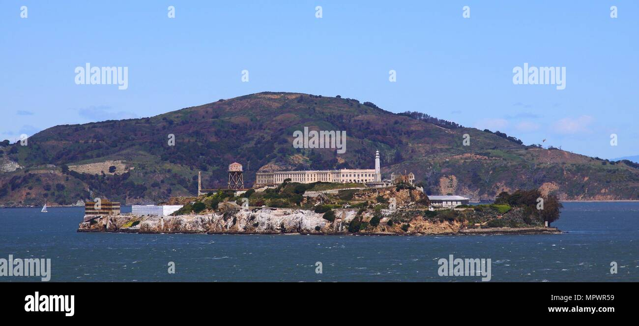 Alcatraz prison - Stock Image