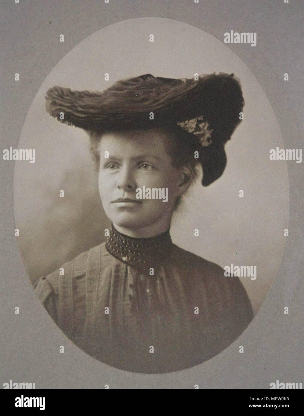 Nettie Maria Stevens (1861-1912), 1904. - Stock Image