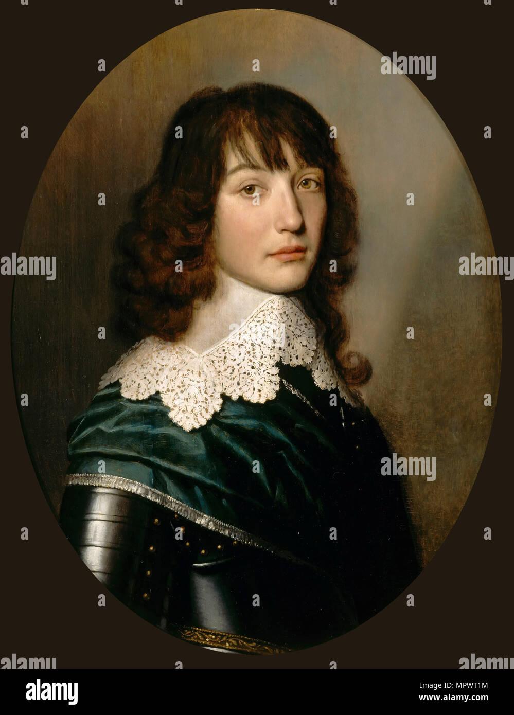 Portrait of Count Palatine Edward of Simmern (1625-1663), c. 1640. - Stock Image