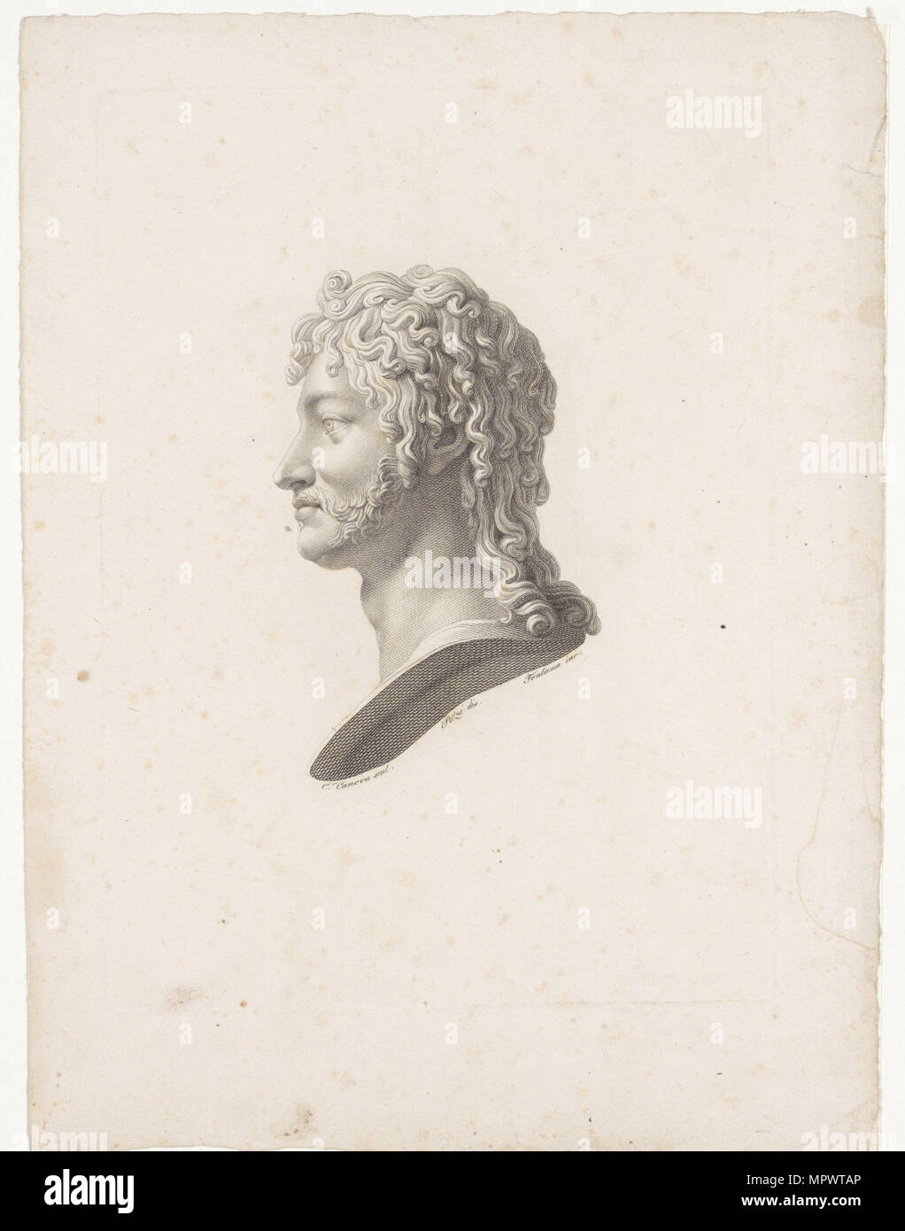 Portrait of Joachim Murat (1767-1815), c. 1800. - Stock Image